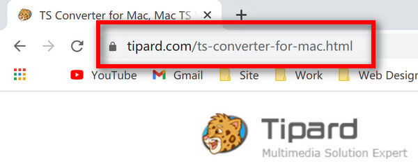 TS Converter pro Mac URL