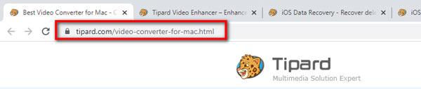 Video-omzetter voor Mac-URL