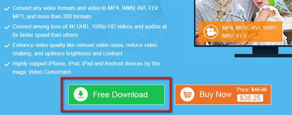 Download gratuito del convertitore video