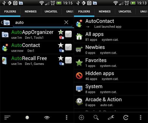 Auto App Organizer grátis