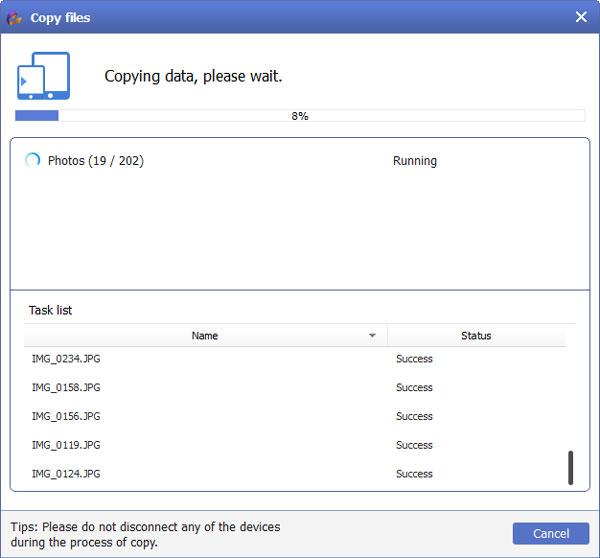 Copiar arquivos