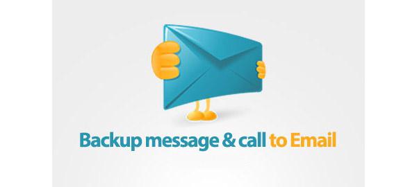 Yedekleme Mesajı ve E-postaya Çağrı