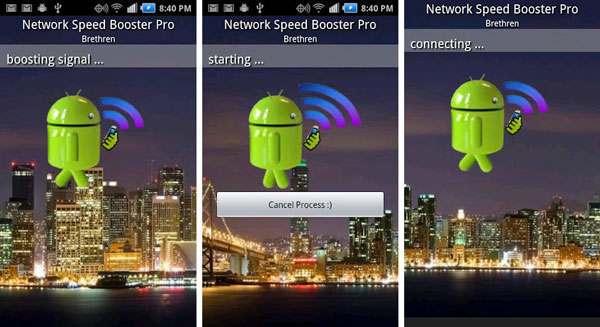 Network Signal Speed ​​Booster