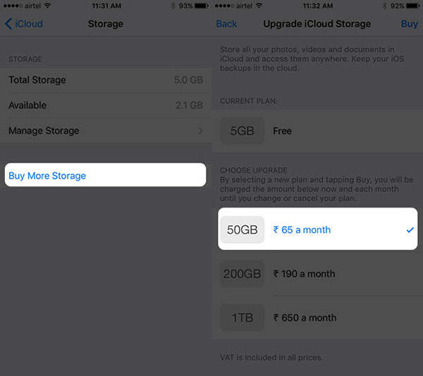 Kup Storage z iPhone'a
