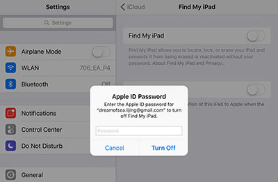 How to Turn off Find My iPhone Activation Lock
