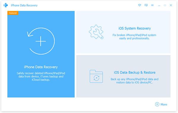 Tipard iOS استعادة البيانات