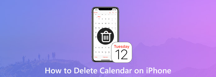 Elimina i calendari sul tuo iPhone