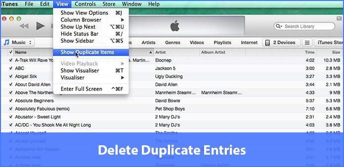 excluir duplicatas