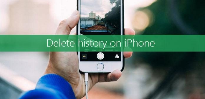 حذف السجل على iPhone