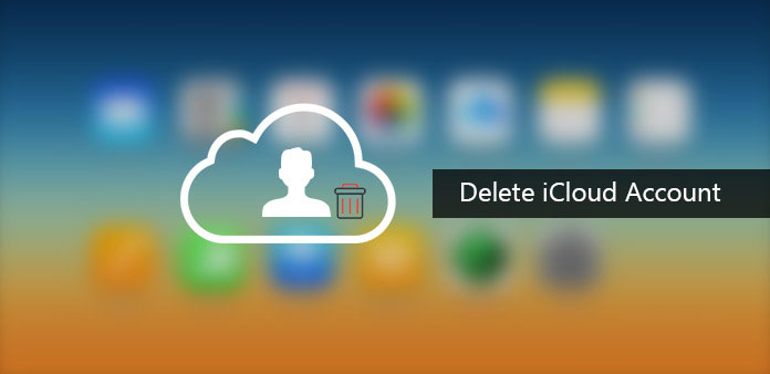 iCloudアカウントを削除する