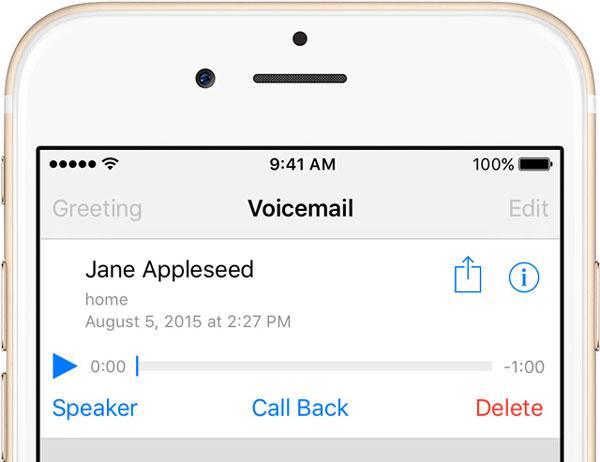 Supprimer la messagerie vocale