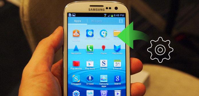 Tehdasasetus Samsung Galaxy S3
