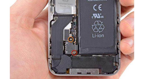 Corrigir o iPhone danificado físico