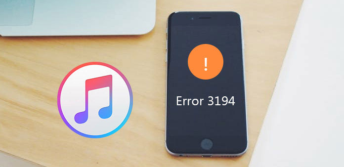 Chyba iTunes 3194