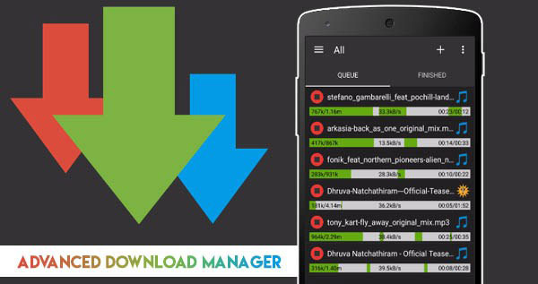 Avancerad Download Manager