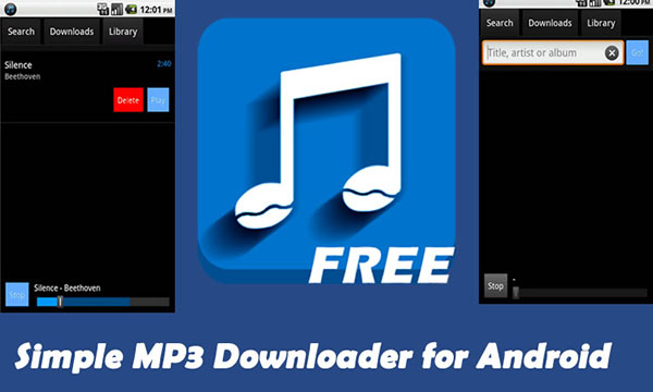 Yksinkertainen Mp3 Downloader for Android