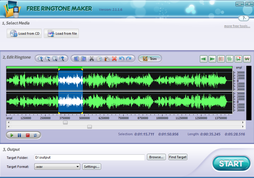 TRingtone Maker Gratuit
