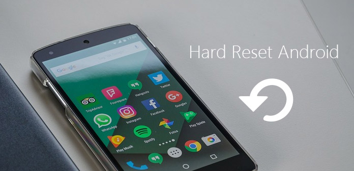 Hard reset telefonu Android / Tablet