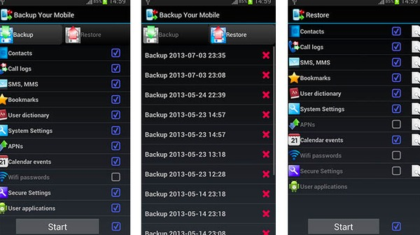 Backup de Android