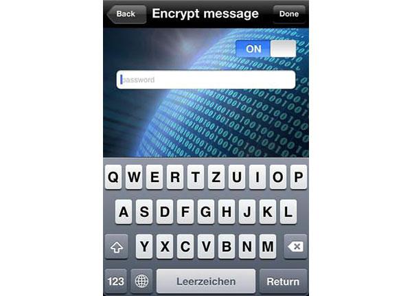 Skrýt textové zprávy prostřednictvím služby Stega