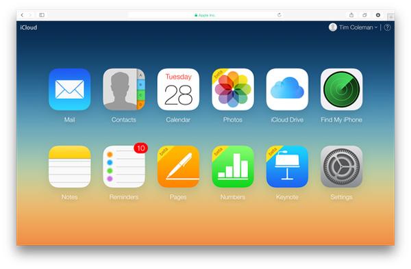 Přístup k iCloud Photos Online