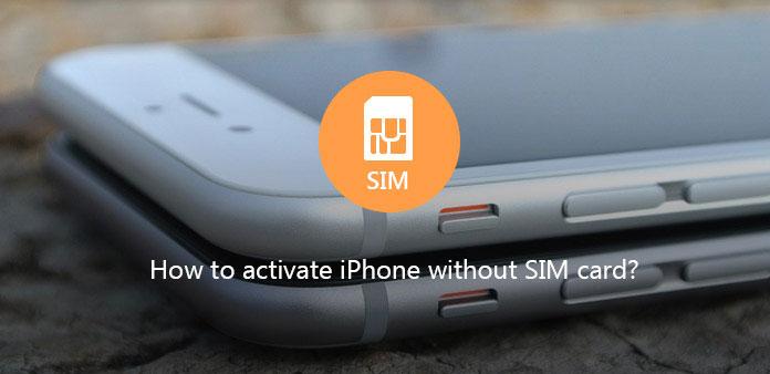 Aktivera iPhone utan SIM-kort