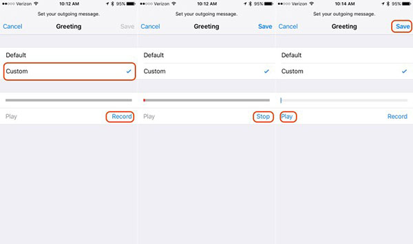 How to change your voicemail on iphone change voicemail greetings m4hsunfo