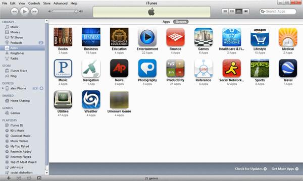 limpar o iTunes