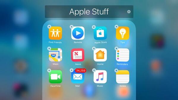 Slet en app