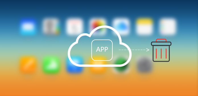Elimina app da iCloud
