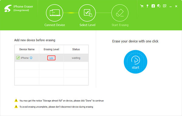 Συνδέστε το iPad σε υπολογιστή με καλώδιο USB