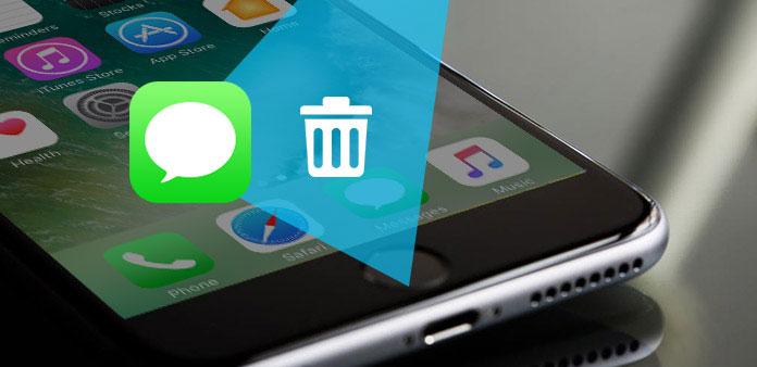 iPhoneでメッセージを削除する