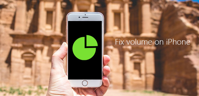 Correggi il volume di iPhone