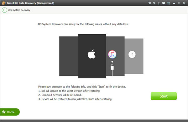 Tipard iOS System Recovery