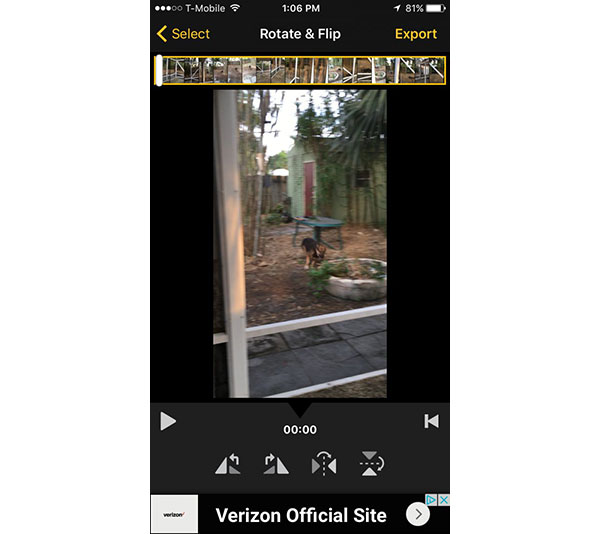 Top 3 methods on how to rotate video on iphone rotate video clips ccuart Images