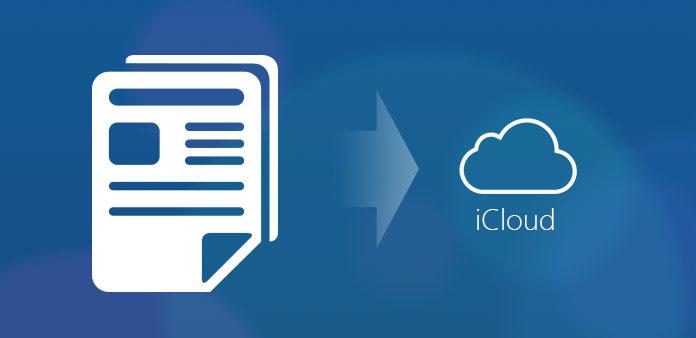 Lagre dokumenter til iCloud