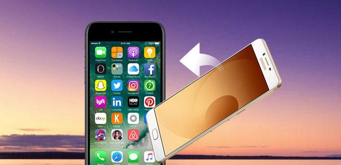Överför data från Android till iPhone