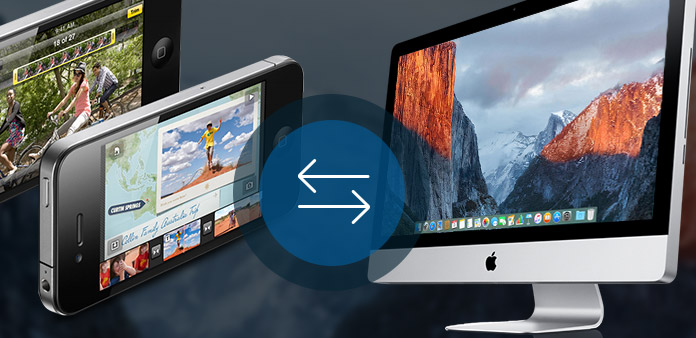 Trasferisci i file tra iPhone 4 e Mac