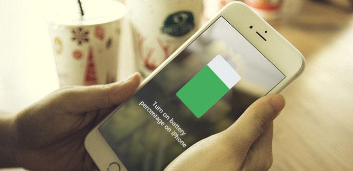 Ativar a porcentagem de bateria