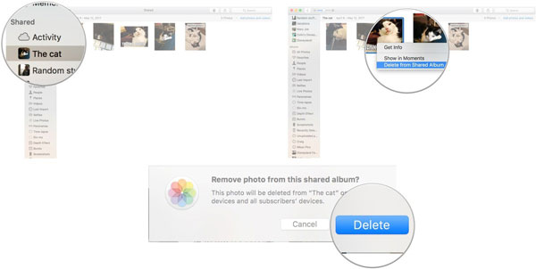 Delete Photos from a Shared Photo Album