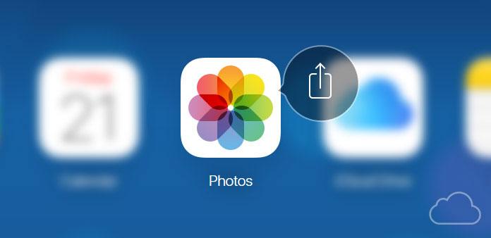Käytä iCloud-valokuvien jakamista