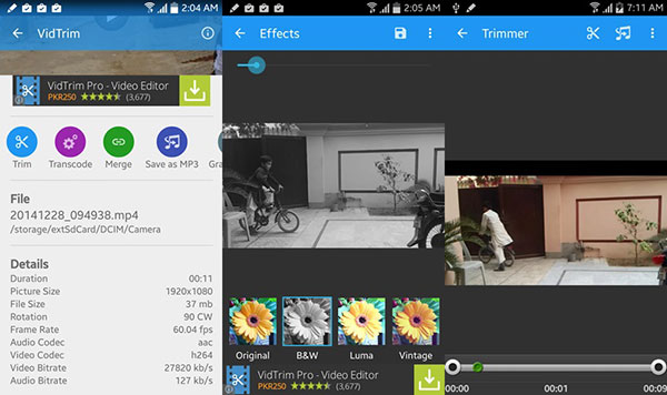 Top 10 Apps Similar with iMovie for Android to Edit Videos