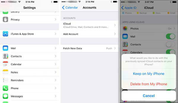Fix iPhone Calendar not Syncing with iCloud