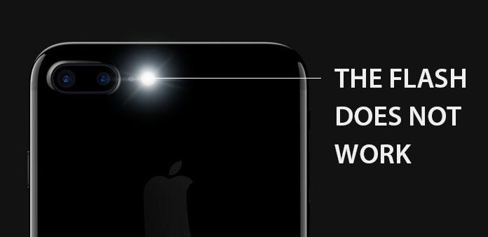 iPhone taskulamppu ei toimi