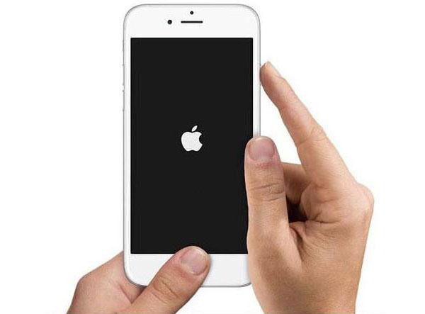 Redémarrer l'iPhone