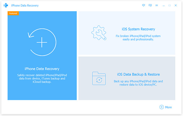 Tipard Recovery systému iOS