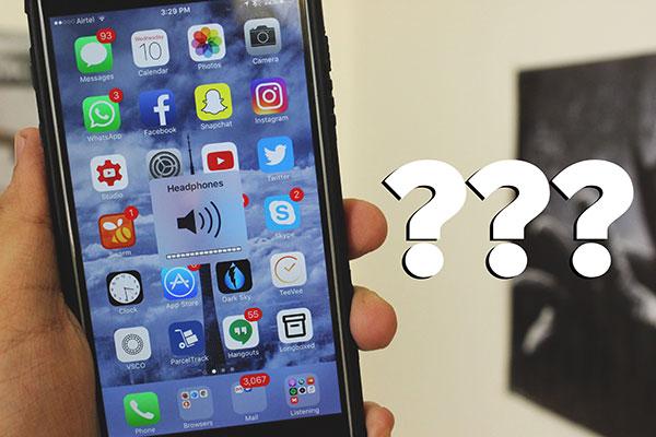 Problem z telefonem iPhone