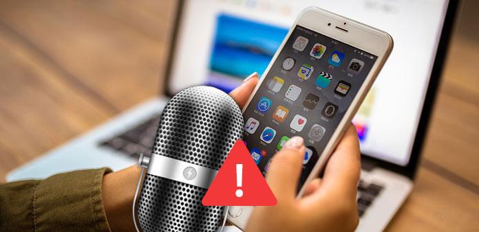 iPhone mikrofon nefunguje