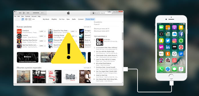 iPhone visas inte i iTunes