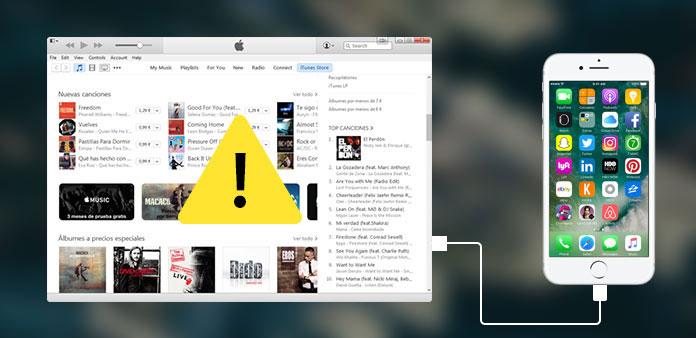 iPhone viser ikke op i iTunes